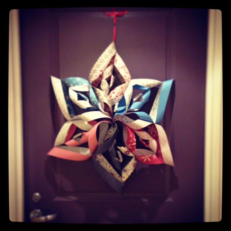 Paper Snowflake00