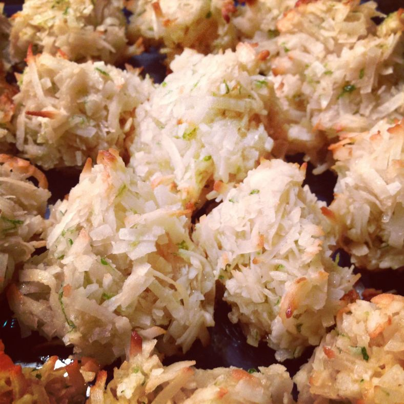 Coconut & Lime Macaroons