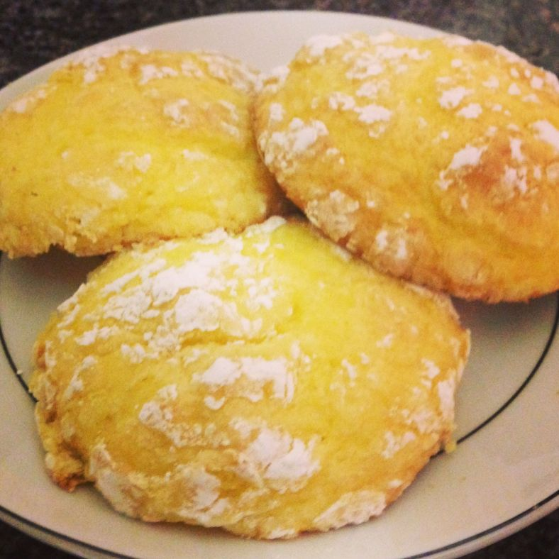Lemon Cool Whip Cookies