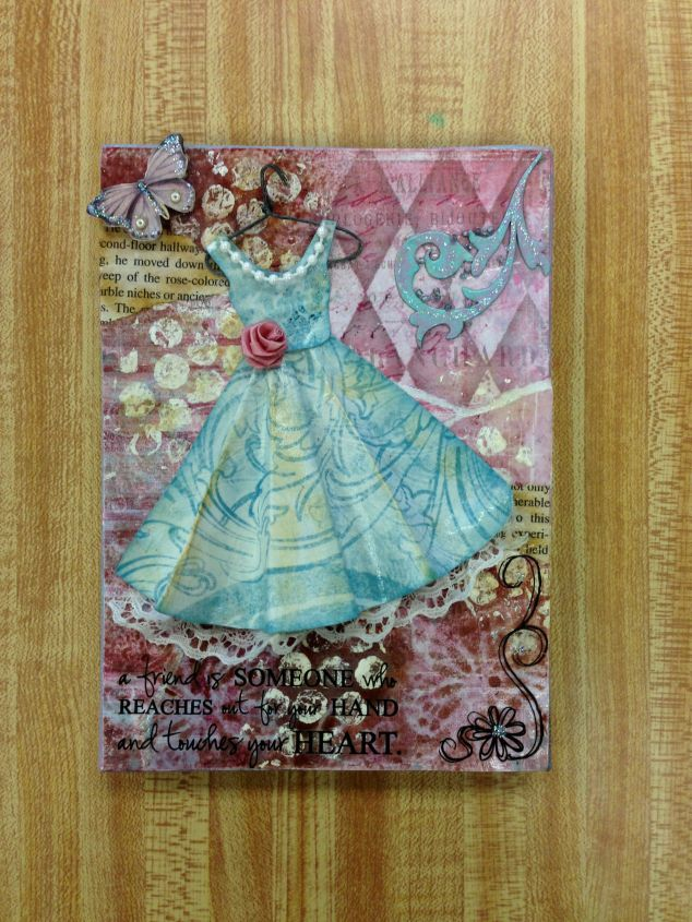 Canvas Decoupage
