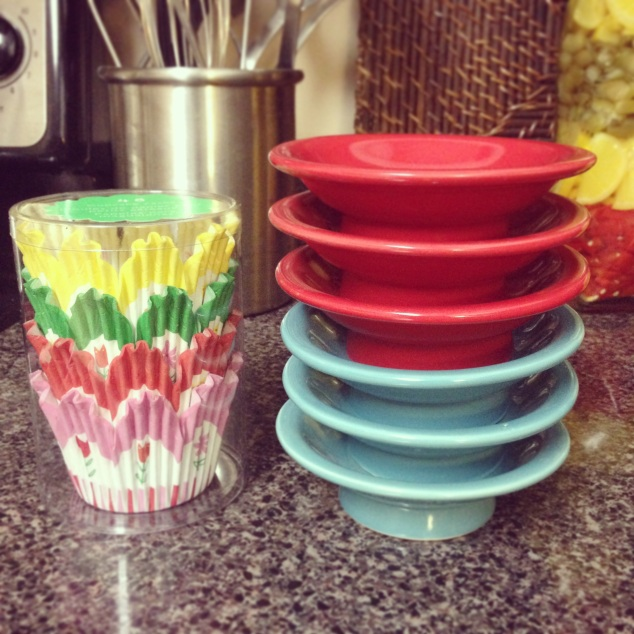 Cupcake Liners and Stands