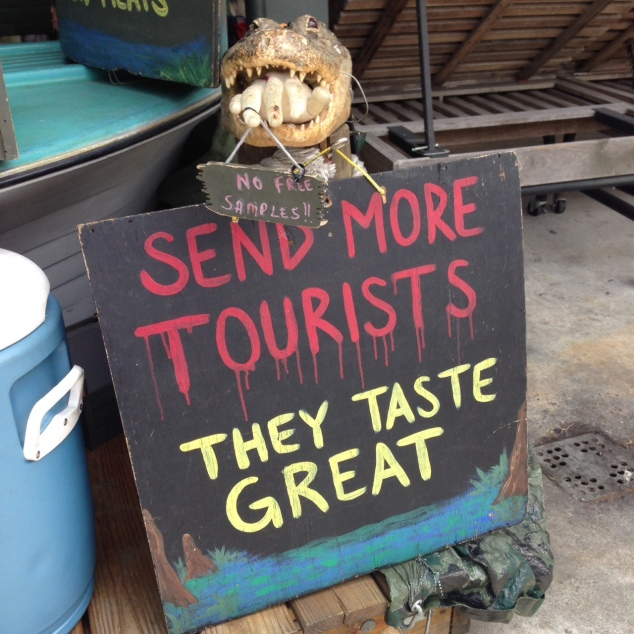 Send Tourists Sign