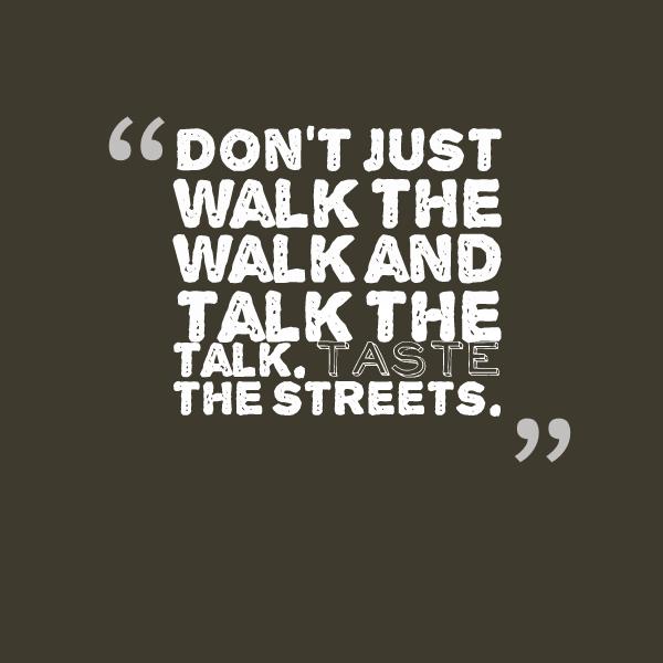 Taste the streets